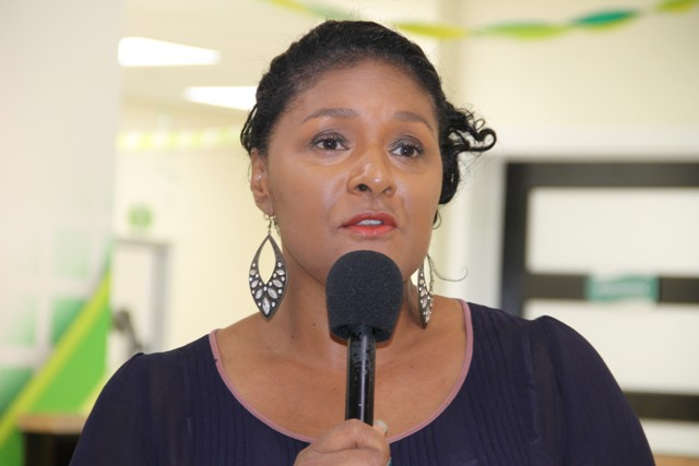 Ms. Shelagh James, Chairperson of the Nevis Cultural UK Exchange Fundraising Committee (file photo)