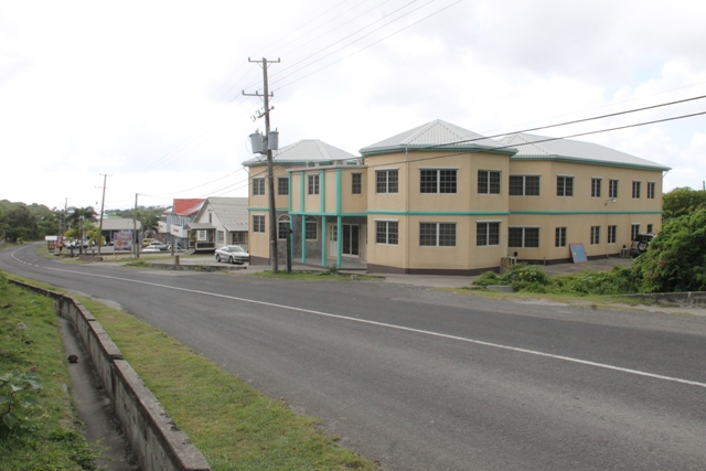 The newly renovated offices of the Ministry of Education including the Department of Education and the University of the West Indies Open Campus building at Marion Heights