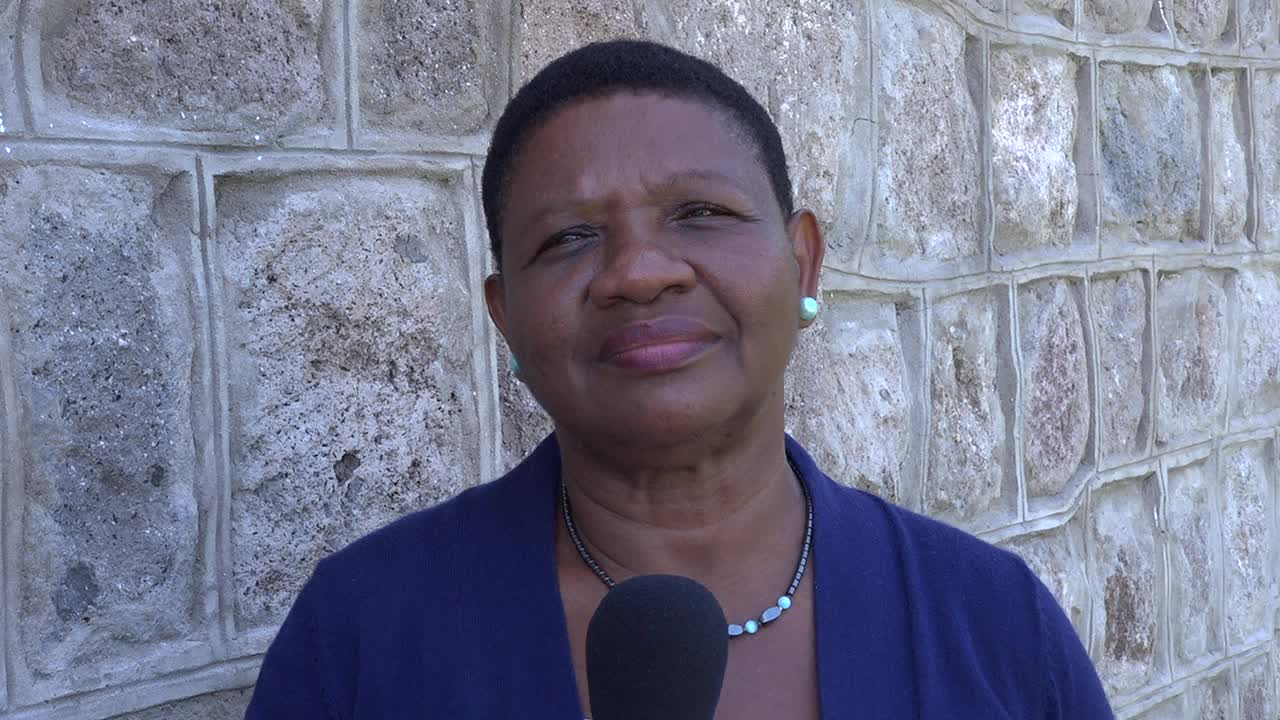 Mrs. Palsy Wilkin, Principal Education Officer in the Department of Education on Nevis