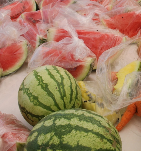 Watermelons cultivated on Nevis (file photo)