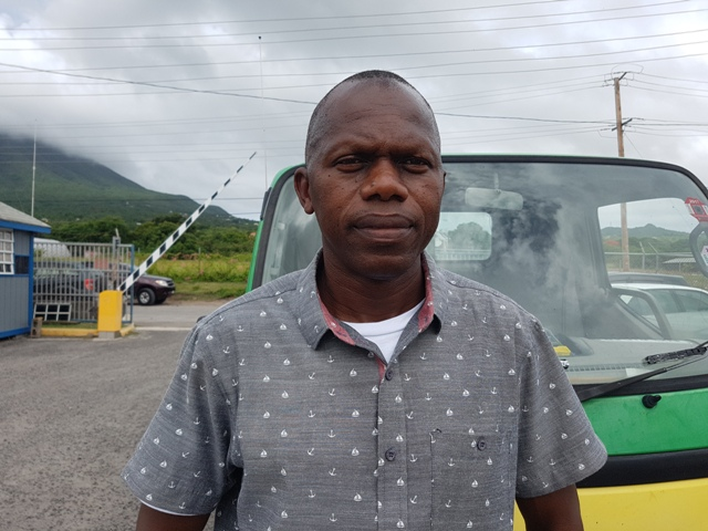 Jervan Swanston, Acting Manager of the Nevis Electricity Company Limited