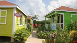 A section of the Artisan Village at the Pinneys Industrial Site operated by the Ministry of Tourism on Nevis (file photo)