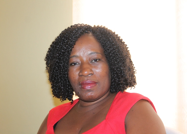 Mrs. Janette Nisbett-Meloney, Director of Community Development in the Ministry of Social Development on Nevis