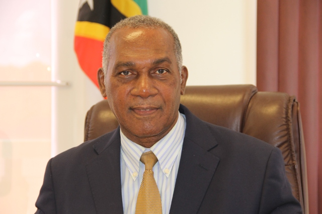 Hon. Vance Amory, Premier of Nevis and Minister of Education in the Nevis island Administration