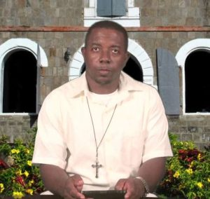 Reverend Christopher Archibald, Chairperson of the Nevis Christian Council