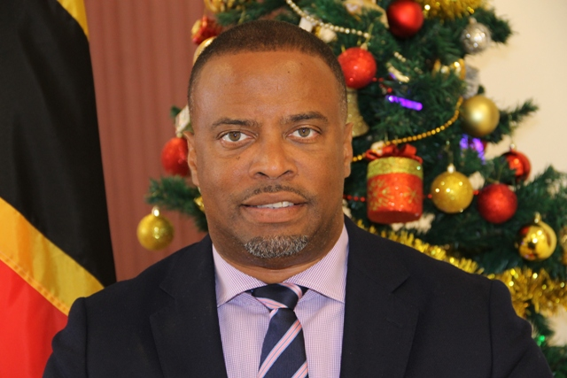 Premier of Nevis Hon. Mark Brantley