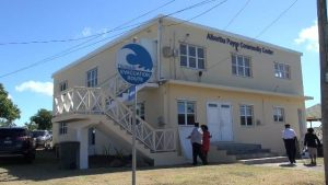 The Albertha Payne Community Centre at Bath Village in Nevis, was refurbished under the Improving Disaster Resilience and Emergency Shelter Management Project funded by the government and people of Japan