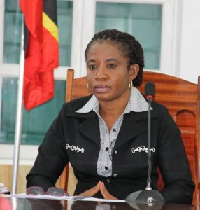 Ms. Myra Williams, Clerk of the Nevis Island Assembly