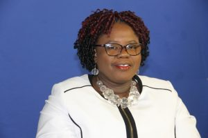 Hon. Hazel Brandy-Williams, Minister responsible for Gender Affairs in the Premier's Ministry