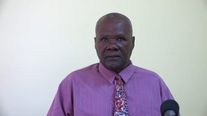President of the Nevis Island Assembly Hon. Farrel Smithen