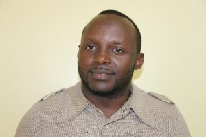 Mr. Jacob Ngumbah, Acting Director at the Nevis Disaster Management Department