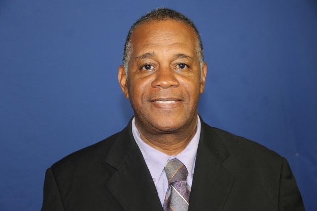 Hon. Eric Evelyn, Minister of Community Development on Nevis