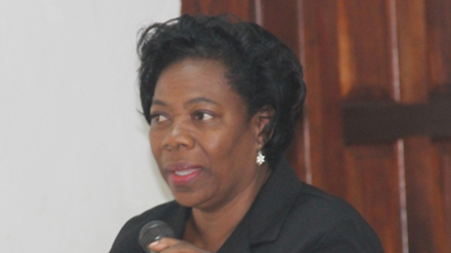 Ms. Lorraine Archibald, Coordinator at the Department of Gender Affairs on Nevis