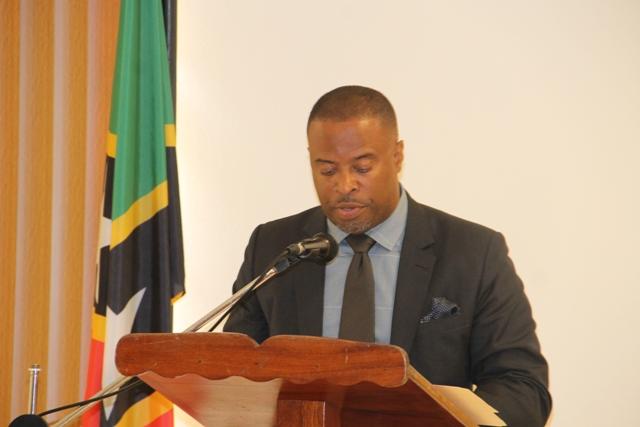 Premier of Nevis Hon. Mark Brantley