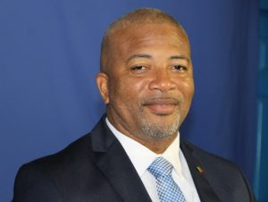 Hon. Spencer Brand, Minister in the Ministry of Water Services in the Nevis Island Administration