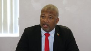 Hon. Spencer Brand, Minister responsible for Water Services on Nevis