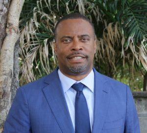 Hon. Mark Brantley, Premier of Nevis and Minister of Public Utilities and Energy