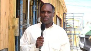Mr. Colin Dore, Permanent Secretary in the Ministry of Finance in Nevis