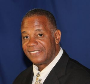 Hon. Eric Evelyn, Minister of Youth in the Nevis Island Administration