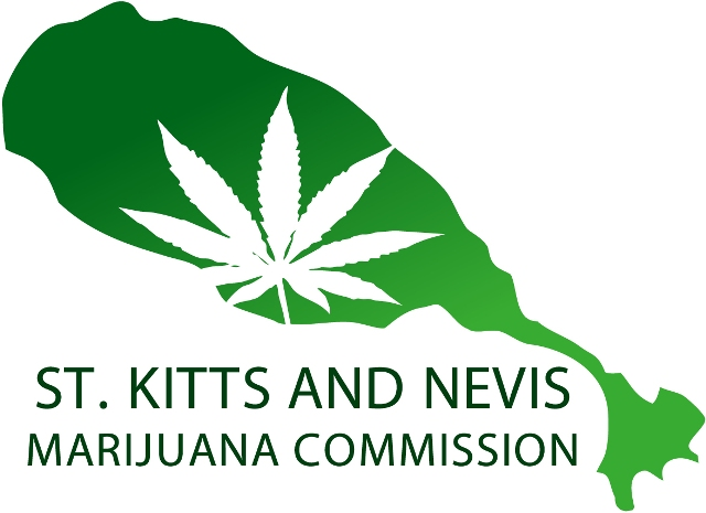 The St. Kitts and Nevis (National) Marijuana Commission logo