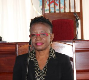 Ms. Myra Williams, Clerk of the Nevis Island Assembly