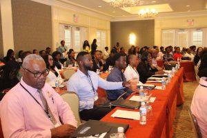 Nevis Premier Brantley addresses service providers