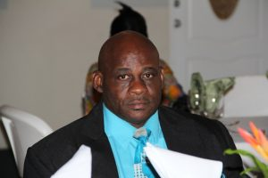 Mr. Joseph Liburd is the new Chairman of the Board of Directors of the Nevis Air and Sea Ports Authority (file photo)