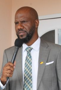Mr. Cory Tyson will be the new music instructor at the Nevis Cultural Development Foundation as of Tuesday, June 5th, 2018 (file photo)