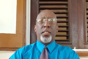 Mr. Abonaty Liburd, Executive Director of the Culturama Secretariat in the Ministry of Culture on Nevis