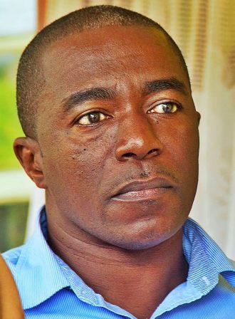 Mr. Colin Freeman son of cultural icon on Nevis Mr. David Freeman (photo by Sylvester Josiah Meade)