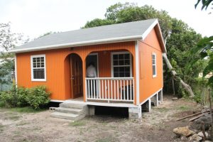 The new home of Ms. Lorraine Cassandra Phillip at Fountain Village, a gift from the Ministry of Social Development in the Nevis Island Administration, as part of its Community Housing Assistance Programme on June 14, 2018