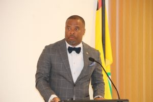 Hon. Mark Brantley, Premier of Nevis and Minister of Security and also of Education on Nevis