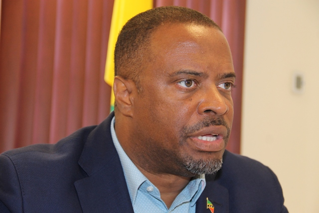 Hon. Mark Brantley, Premier of Nevis and Minister of Finance in the Nevis Island Administration
