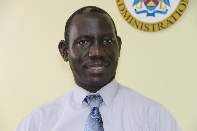 Mr. John Hanley, Acting Permanent Secretary in the Ministry of Tourism on Nevis