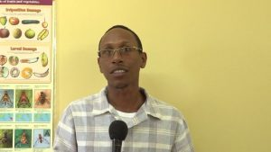 Mr. Quincy Bart, Senior Quarantine Officer at the Department of Agriculture in Nevis
