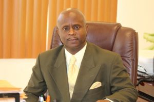 Mr. Wakely Daniel, Permanent Secretary in the Premier's Ministry in the Nevis Island Administration