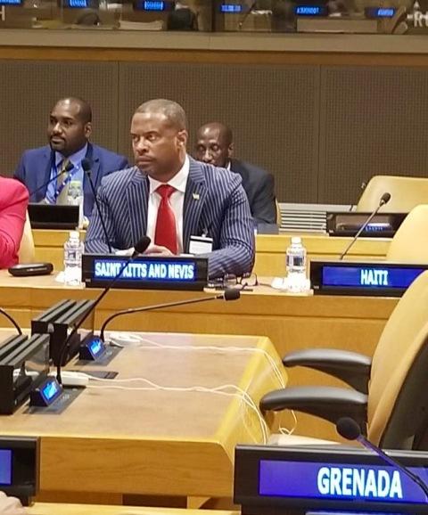 St. Kitts and Nevis Foreign Minister Hon. Mark Brantley