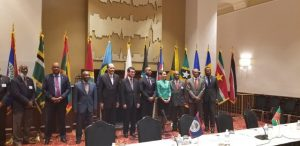 Delegation of CARICOM Foreign Ministers at 6th CARICOM-Japan Meeting on the margins of 73rd Session of the United Nations General Assembly in New York