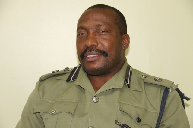Mr. Lyndon David, Superintendent of Police and Divisional Commander of the Royal St. Christopher and Nevis Police Force, Nevis Division