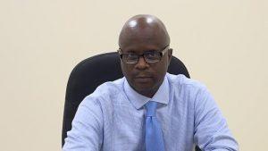 Mr. Wakely Daniel, Permanent Secretary in the Premier's Ministry