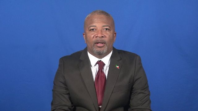 Hon. Spencer Brand, Minister with responsibility for Posts in the Nevis Island Administration