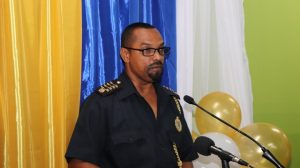 Mr. Cynric Carey, Deputy Comptroller of Customs and Excise Department on Nevis on October 25, 2018
