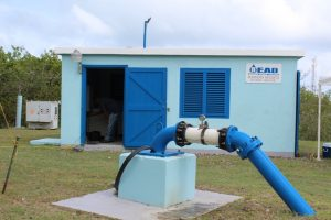 The pump station and well at Maddens Estate on October 05, 2018 owned by the people of Nevis