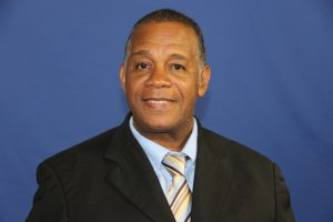 Hon. Eric Evelyn, Minister with responsibility for Seniors on Nevis