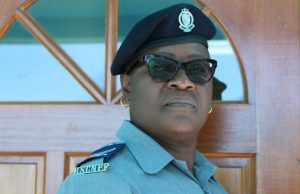 Sgt. Marva Chiverton, Head of the Traffic Department in the Royal St. Christopher and Nevis Police Force, Nevis Division