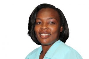 Mrs. Rhonda Forbes-Williams, Deputy Postmaster General on Nevis