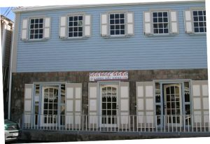 Nevis Postal Services building in Charlestown (file photo)
