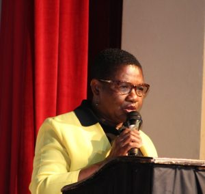Mrs. Palsy Wilkin, former Principal Education Officer in the Department of Education in the Nevis Island Administration