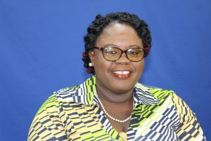 Hon. Hazel Brandy-Williams, Junior Minister responsible for Gender Affairs on Nevis