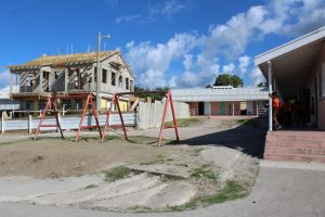 Work continues at the Charlestown Primary School's new management expansion project